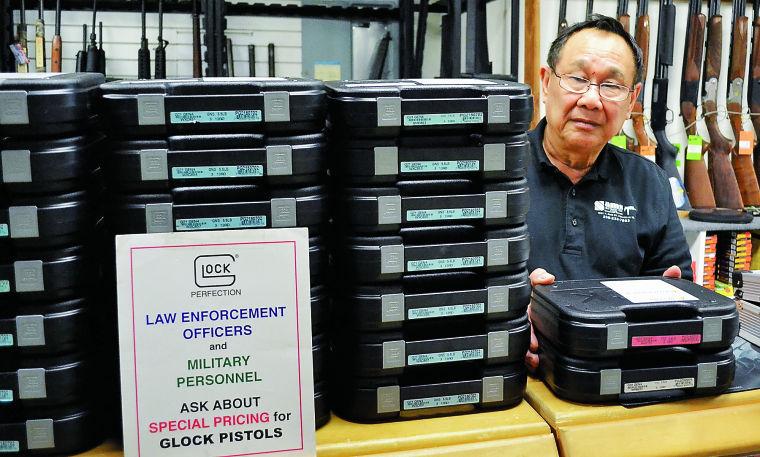 glock restock: gunshop owner still unhappy over bidding situation