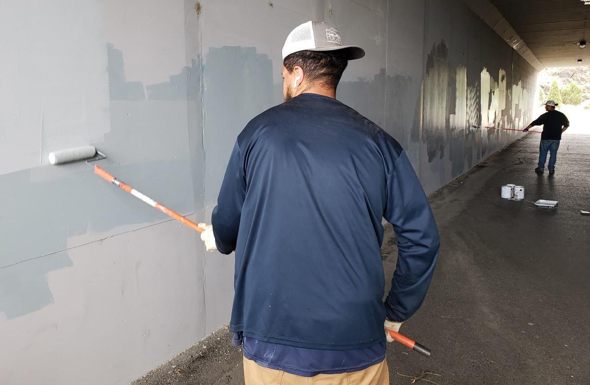 Cleanup of Kirkham Trail tunnel vandalism