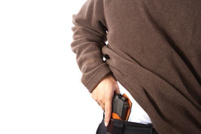Concealed carry stock photo (copy) (copy)
