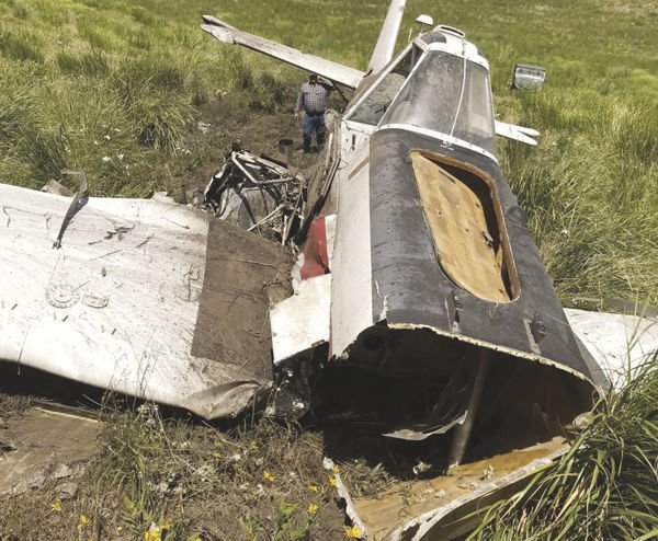 Crop Duster Crash