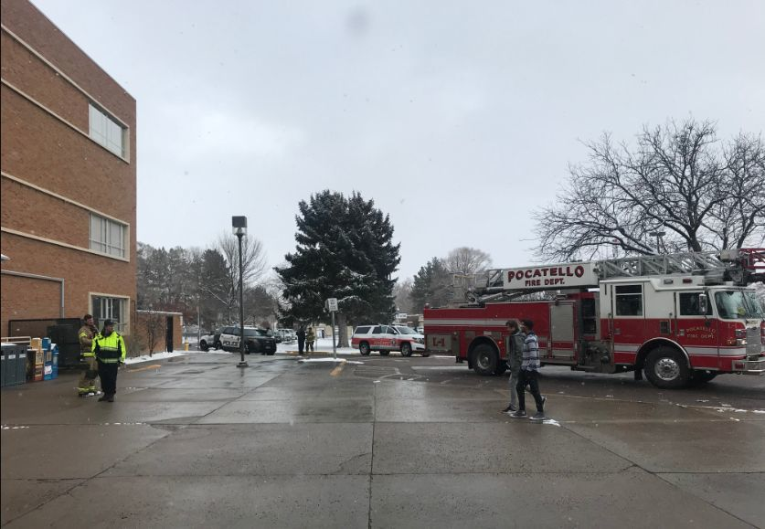 White powdery substance at ISU