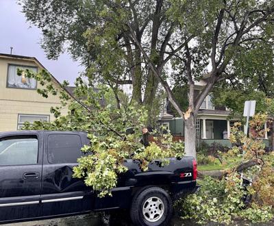 Thunderstorm damage