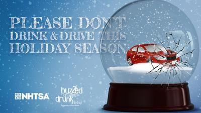 Buzzed driving poster