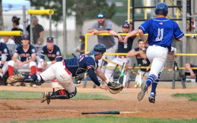 Grays Blue Sox NUL playoffs 2018