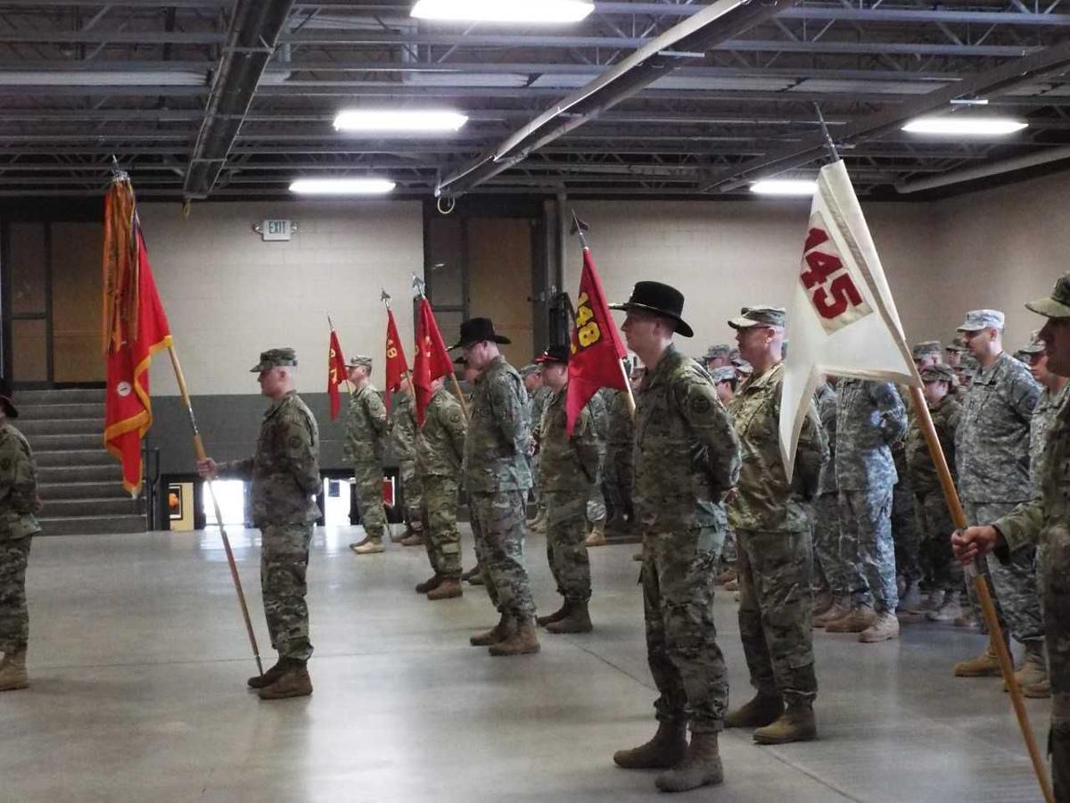 Idaho Army National Guard's 1st Battalion