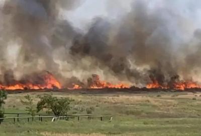 Highway 26 wildfire