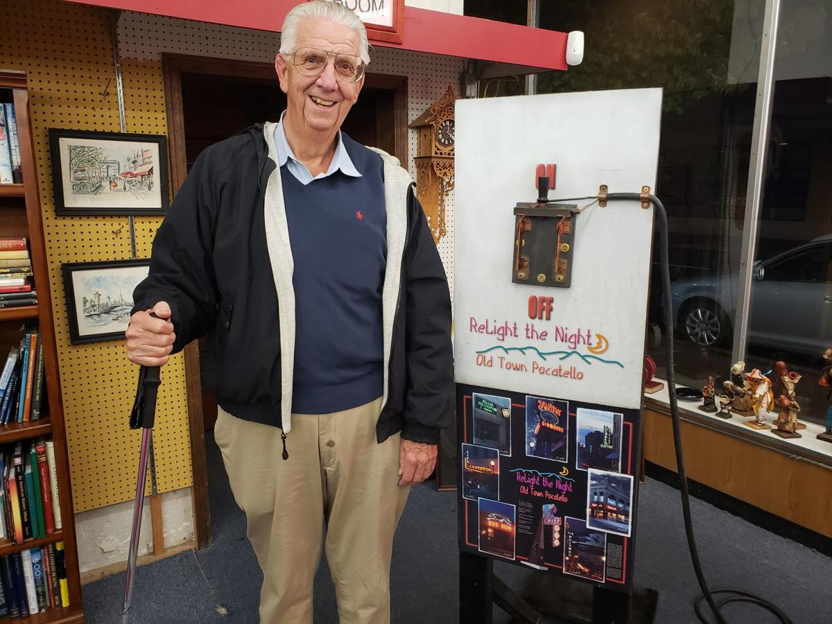 William Eames next to switch