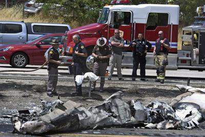 Plane Crash Highway