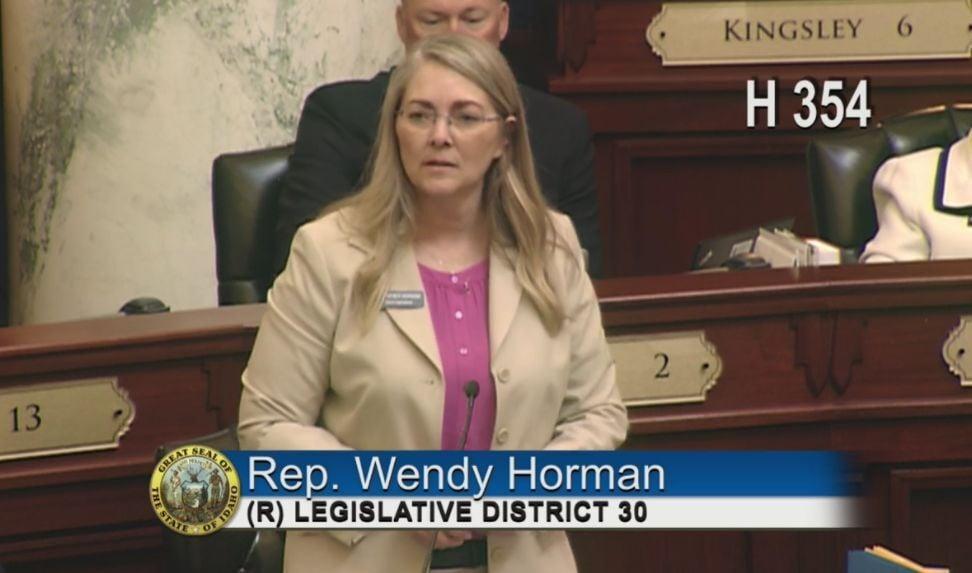 Wendy Horman 4-13-21 screenshot
