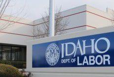 Idaho Department of Labor sign generic stock image file photo