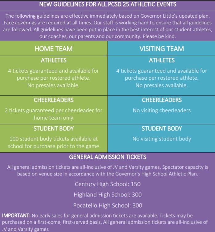 School District 25 COVID-19 Athletic Plan