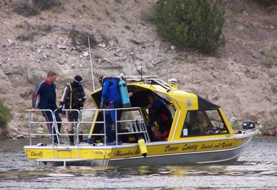 File pic boat rescue stock image drowning
