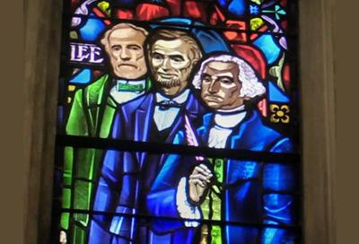 Lee stained glass