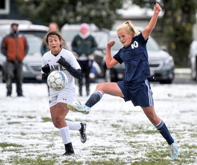 Poky vs Canyon Ridge girls soccer