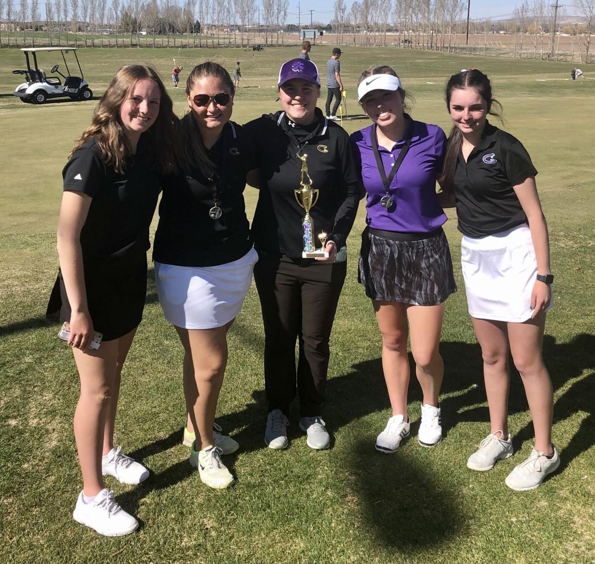 Century girls golf team