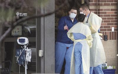 Virus Outbreak Idaho