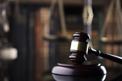 Judge's gavel. justice concept.