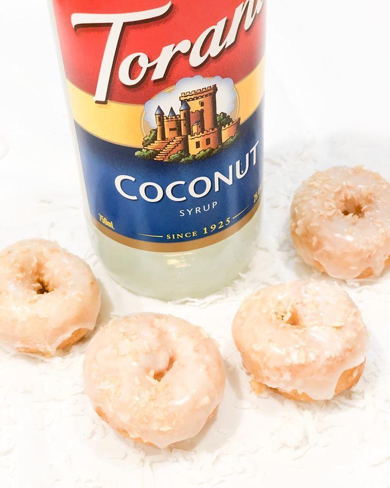 Sugarhouse Donut Company's coconut crunch mini doughnuts.