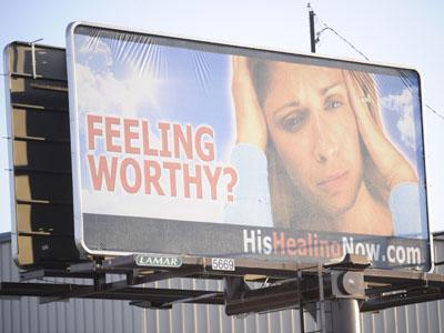 Billboards campaign targets Mormon doctrine