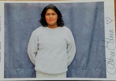 Adree Edmo jail portrait