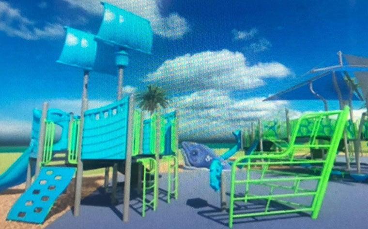 New Playground Equipment ...