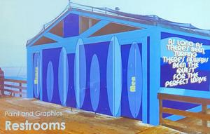 Restrooms On The Pier ...