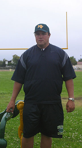 Tyler Arciaga Is The New Coach For Mar Vista High Football