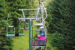 <p>This is the ski lift at Skyline Rotorua that the Mar Vista students took up the Mt. Ngongotaha slope in Rotorua, New Zealand.</p>