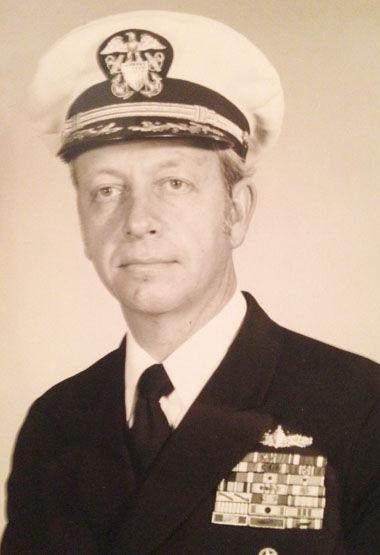 Captain Roy Edgar McCoy USN Ret