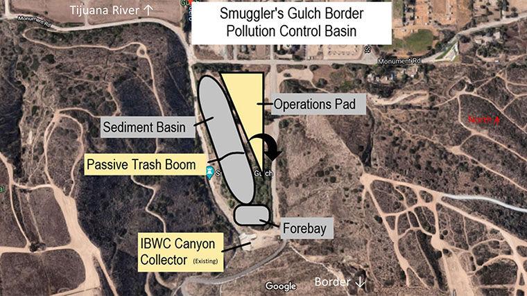 Smugglers Gulch Sediment Basin ...
