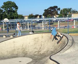 <p>Very impressive indeed! On Saturday, Aug. 24, the Imperial Beach Athletic Club (IBAC), along with the Boys and Girls Club, held its second annual skateboard contest at the Imperial Beach Skate Park.</p>