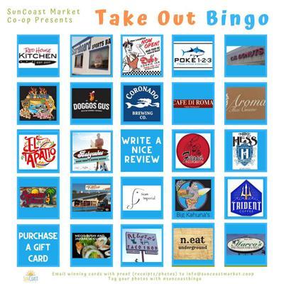 Play Take Out Bingo ...