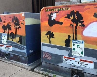 Utility Box Art ...