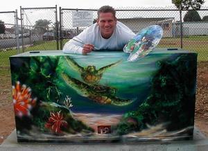 Artist David Williams