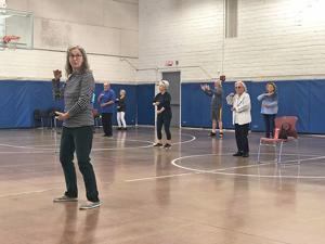 <p>Ruth Cole teaches a free Tai Chi class at Sports Park twice a week.</p>