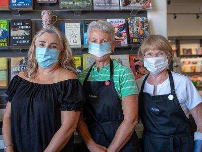 Wearing Face Masks ...