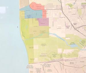 <p>The Rose 2 blended map is one of the 13 submitted to the city to create election districts in the city of Imperial Beach.</p>
