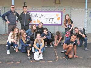 <p>Students and staff from Tarbut V'Torah (TVT) Community Day School and the South Bay Union School District distributed Thanksgiving meal baskets to South Bay families.</p>