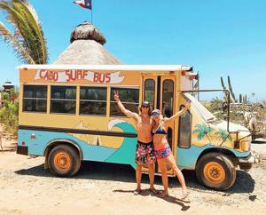<p>Mar Vista High School 2019 graduate Zachary Hastings and his girlfriend Samantha McNall have been living and loving Cabo San Lucas, and the surf that comes with it.</p>
