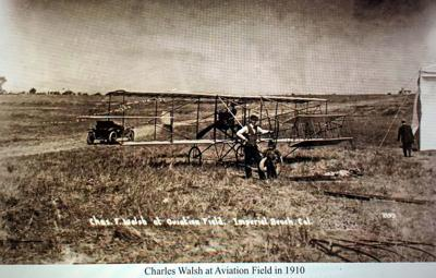Charley Walsh Gets Ready to Fly