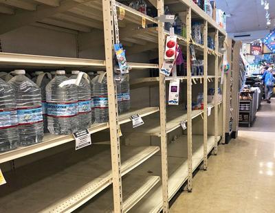 Empty Shelves ...