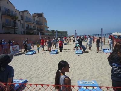Cornhole On The Beach Tournament ...