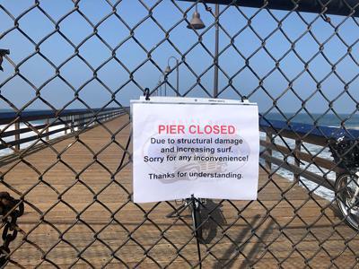IB Pier Temporarily Closed ...