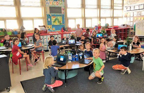 Photo 1 Kindergarten Chromebooks UNITE