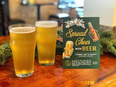 Spreads Cheer With Beer