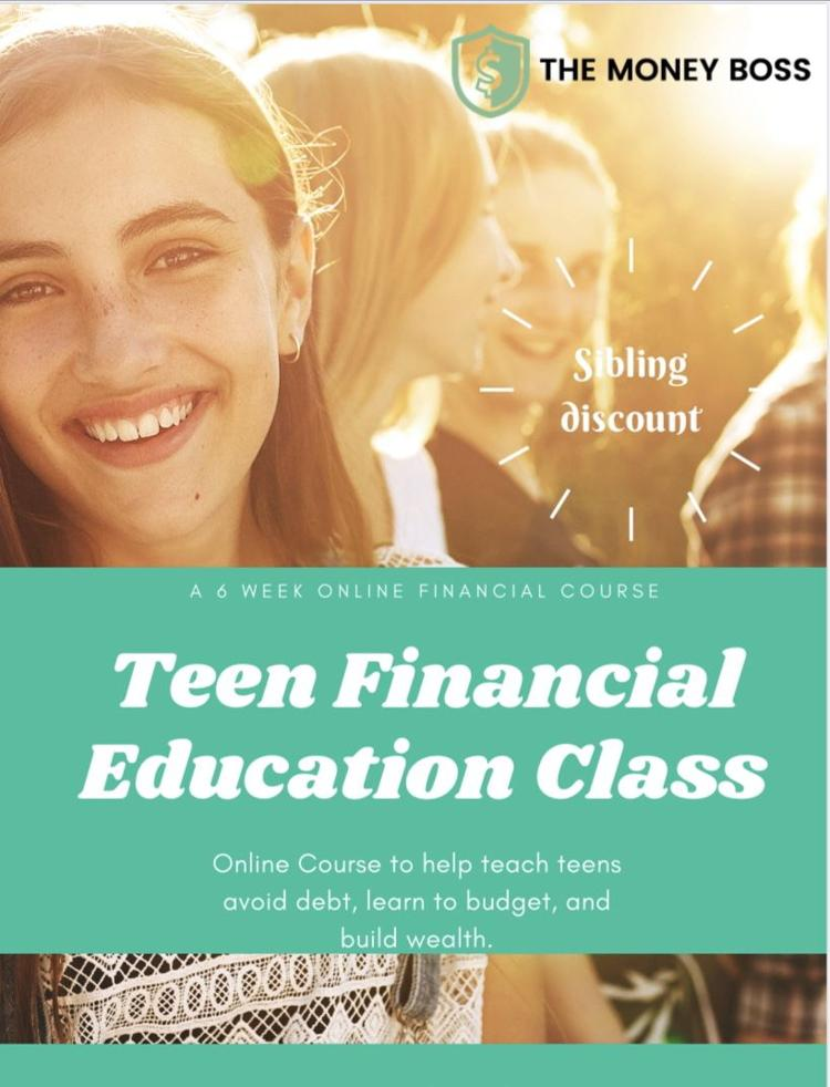 Teen & Young Adult Financial Education Course