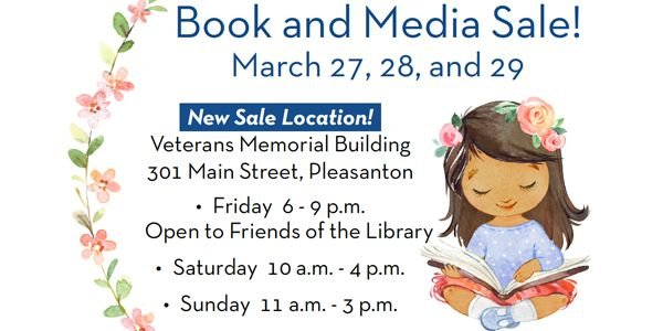 Big Book and Media Sale: New Location