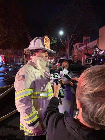 fire chief retires - rocha