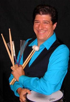 Rob Hart with sticks