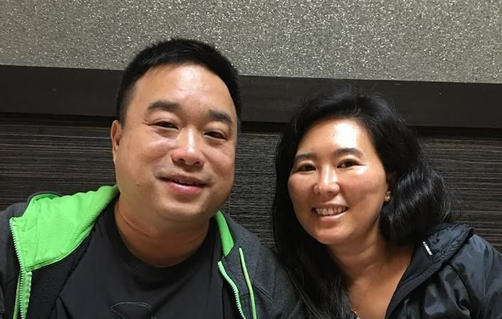 Jee-Yeon and Wallace Wong